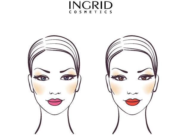 Makijaż INGRID /materiały prasowe