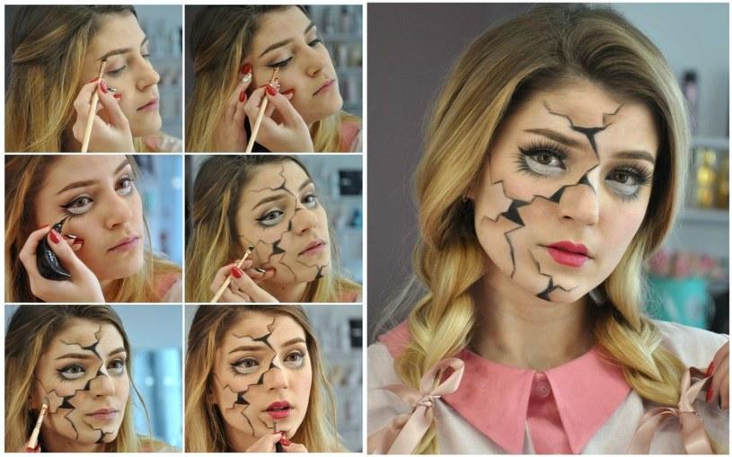 Makijaż na Halloween /materiały prasowe