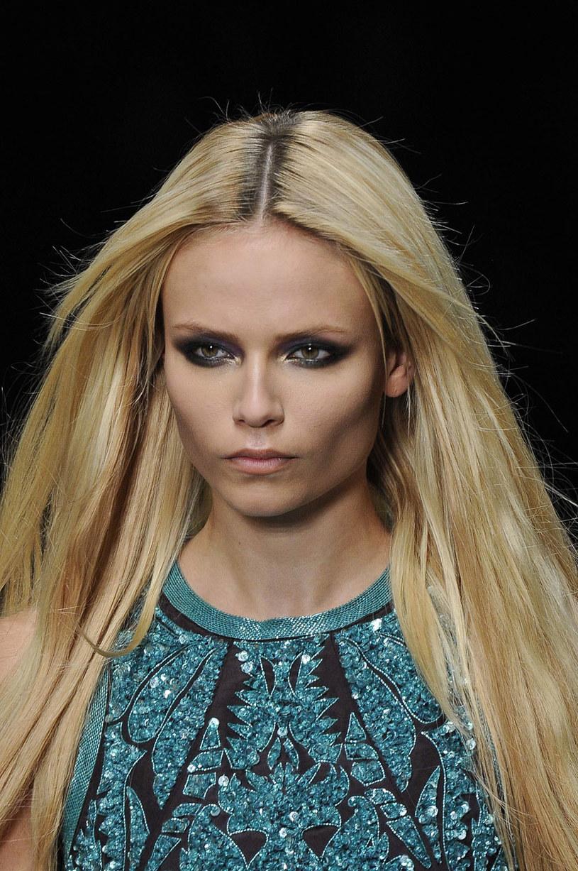 Makijaż z pokazu Roberto Cavalli /East News/ Zeppelin
