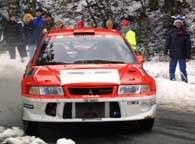Makinen i jego Mitsubishi najlepiej zniosły trudy rajdu