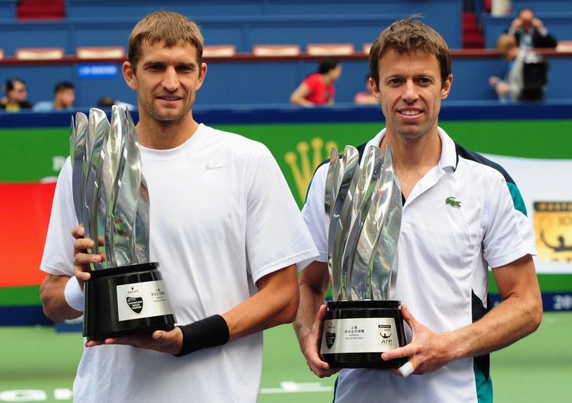 Maks Mirnyj (z lewej) i  Daniel Nestor /. /AFP