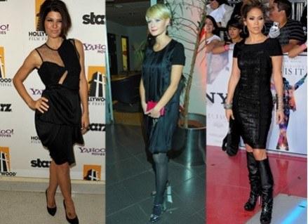 Mała czarna nigdy nie wychodzi z mody/fot. Getty Images/MWMedia /