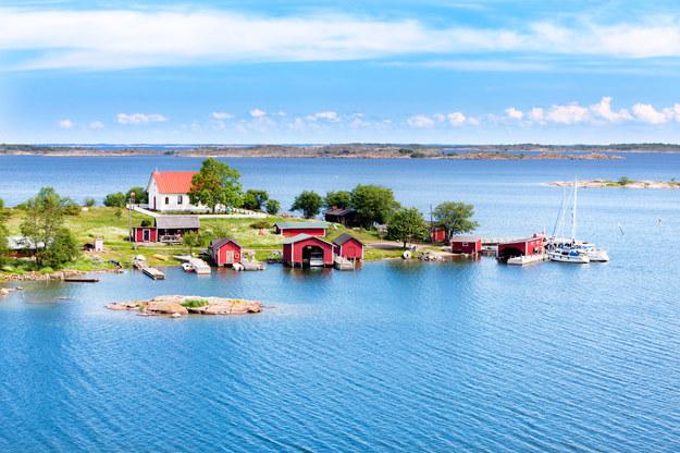 Mała wioska w Finlandii /123/RF PICSEL