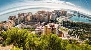 Malaga. Stąd można dostrzec wybrzeże Afryki
