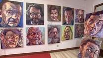 Malarka Iwona Golor i jej nietypowe portrety gwiazd