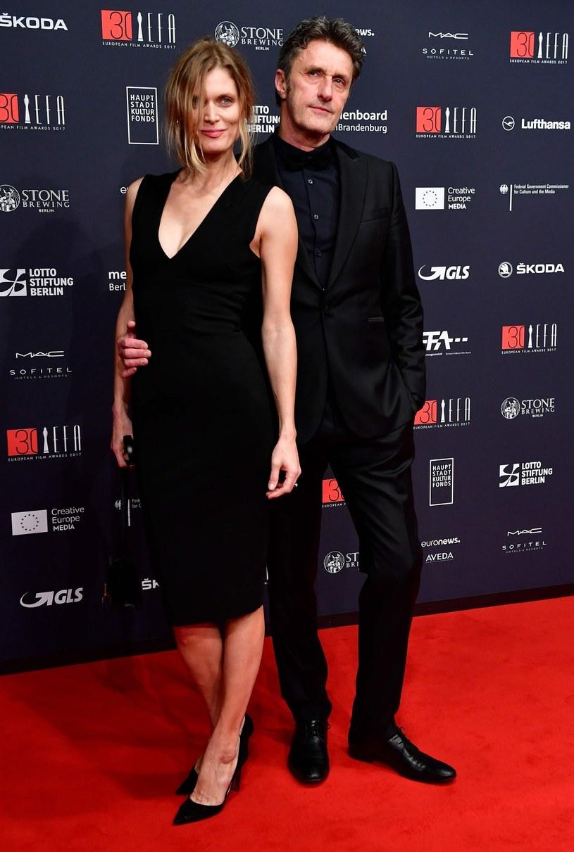 Małgorzata Bela-Pawlikowska i Paweł Pawlikowski na European Film Awards /East News