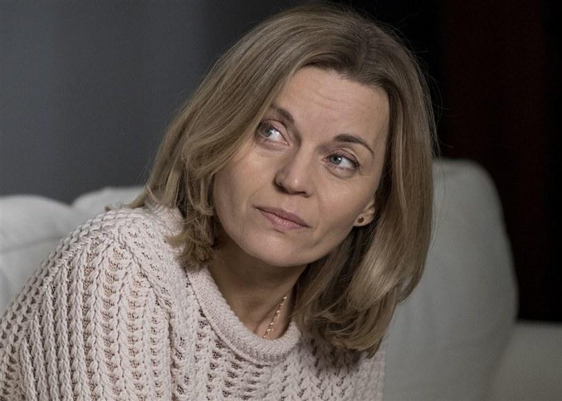 """Małgorzata Foremniak w serialu """"W rytmie serca"""" /Agencja W. Impact"""