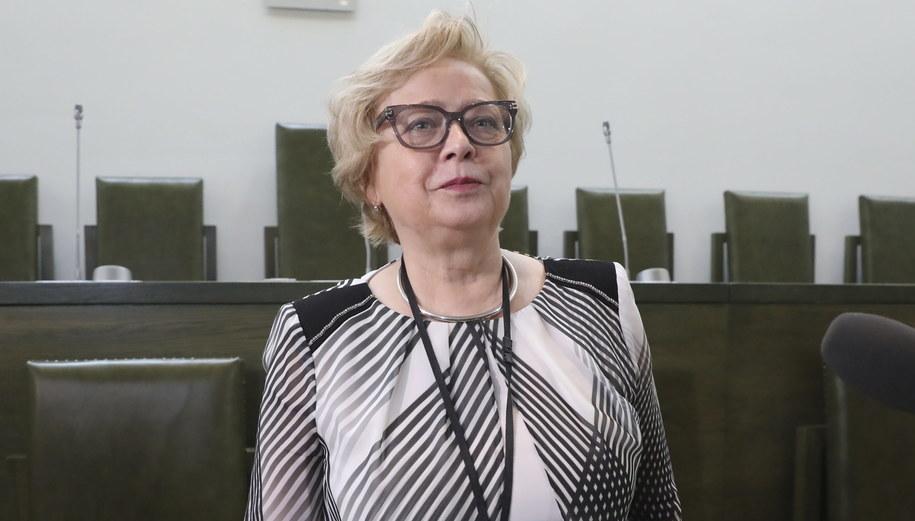 Małgorzata Gersdorf /Tomasz Gzell   /PAP