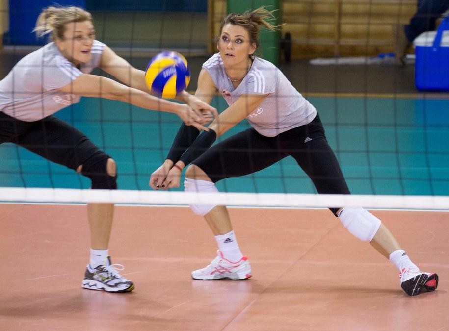 Małgorzata Glinka i Katarzyna Skowrońska-Dolata podczas treningu kadry w Spale /Grzegorz Michałowski   (PAP) /PAP
