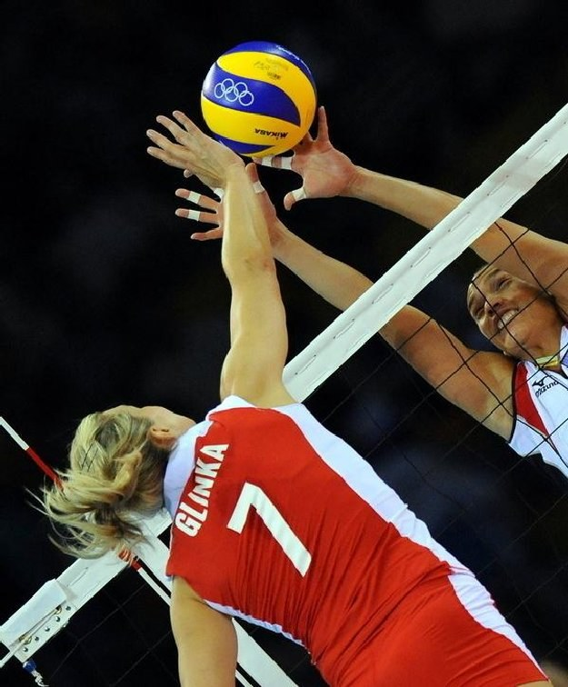 Małgorzata Glinka wróciła do reprezentacji Polski. /AFP