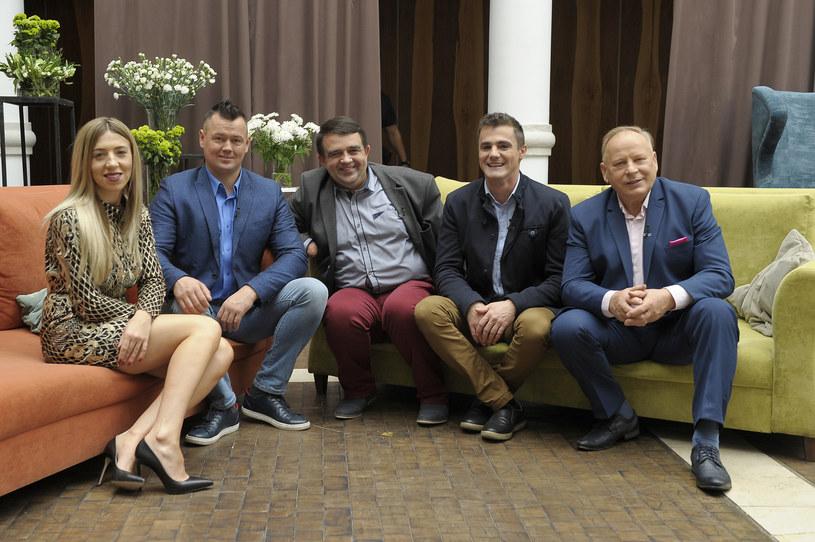 """Małgorzata i inni uczestnicy """"Rolnik szuka żony 4"""" /Gałązka /AKPA"""