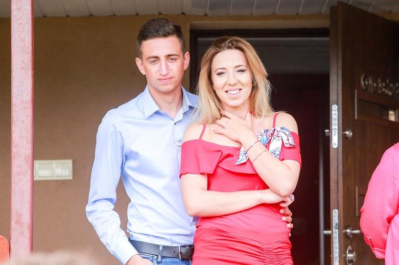 Małgorzata jest szczęśliwa z Pawłem /TVP