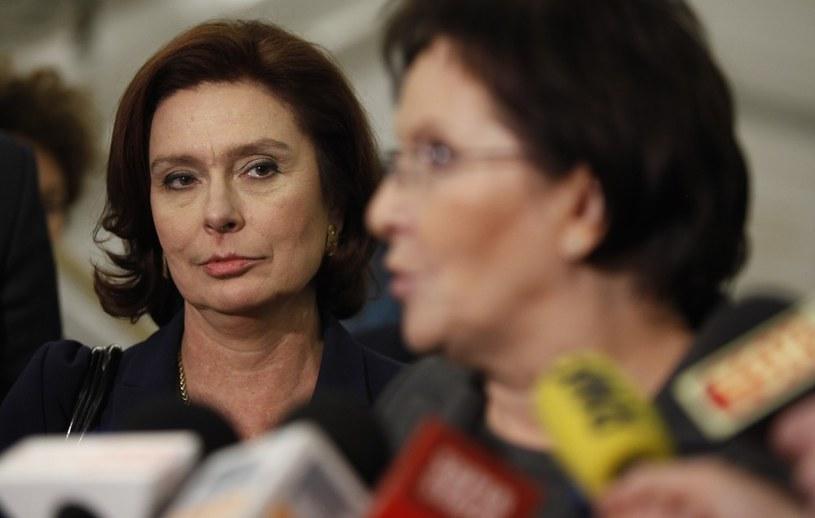 Małgorzata Kidawa-Błońska pracowała już jako rzecznik rządu Donalda Tuska /Stefan Maszewski /Reporter