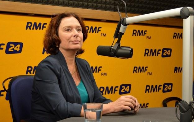 Małgorzata Kidawa-Błońska /RMF FM