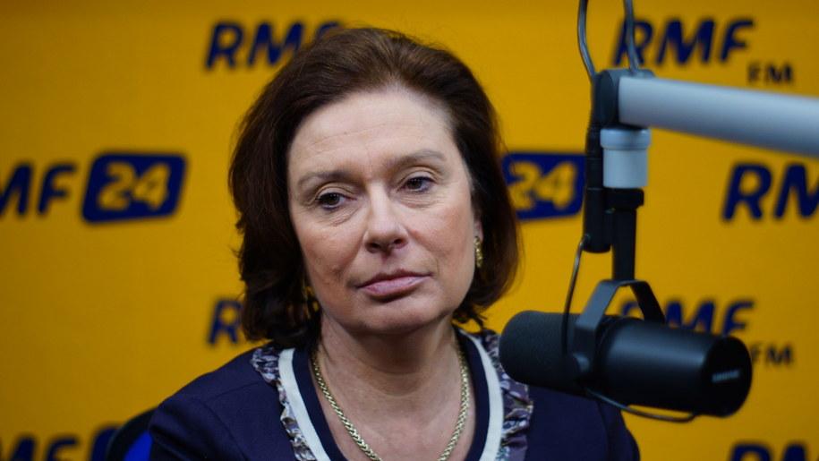 Małgorzata Kidawa-Błońska /Michał Dukaczewski /RMF FM