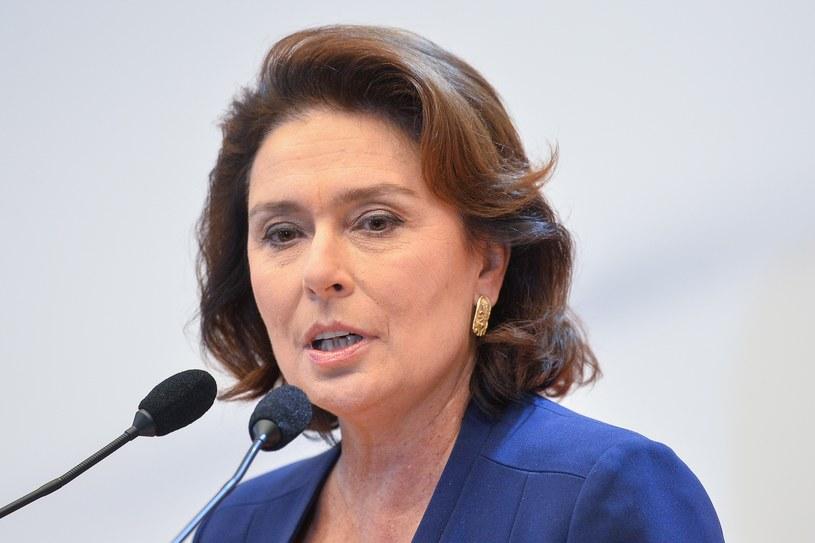 Małgorzata Kidawa-Błońska /Łukasz Dejnarowicz /Agencja FORUM