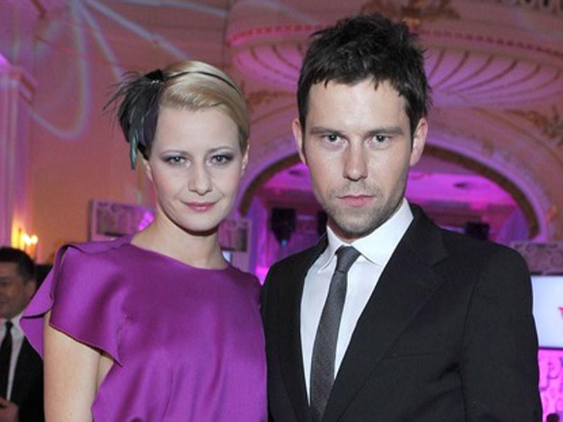Małgorzata Kożuchowska i Bartek Wróblewski  /Jacek Kurnikowski /AKPA