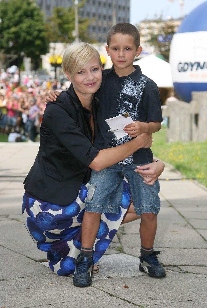 Małgorzata Kożuchowska i Krystian Domagała /Fotek /Reporter