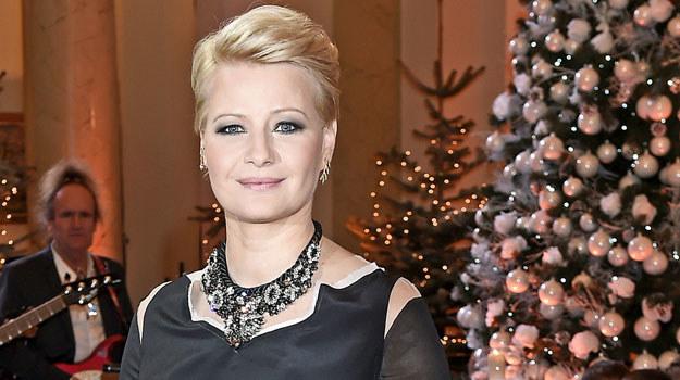 Małgorzata Kożuchowska zdradziła też, że teraz częściej się wzrusza, a dziecko jest wymarzonym prezentem od losu /Mieszko Pietka /AKPA