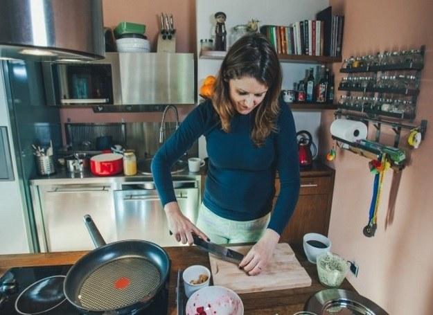 Małgorzata Majewska gotuje, bo lubi troszczyć się o innych /Łukasz Gaffling /materiały prasowe