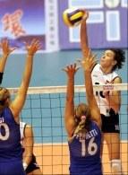 Małgorzata Niemczyk - Wolska zajęła drugie miejsce w rankingu najlepiej atakujących siatkarek GP /www.fivb.org
