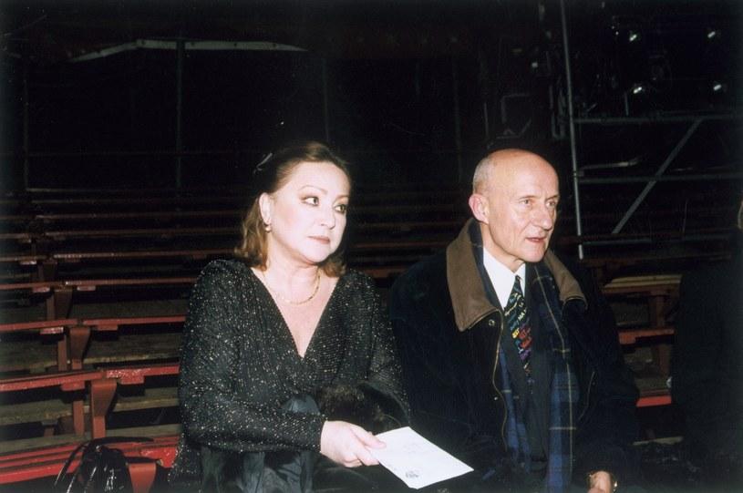 Małgorzata Niemirska i Marek Walczewski /Bauer /AKPA