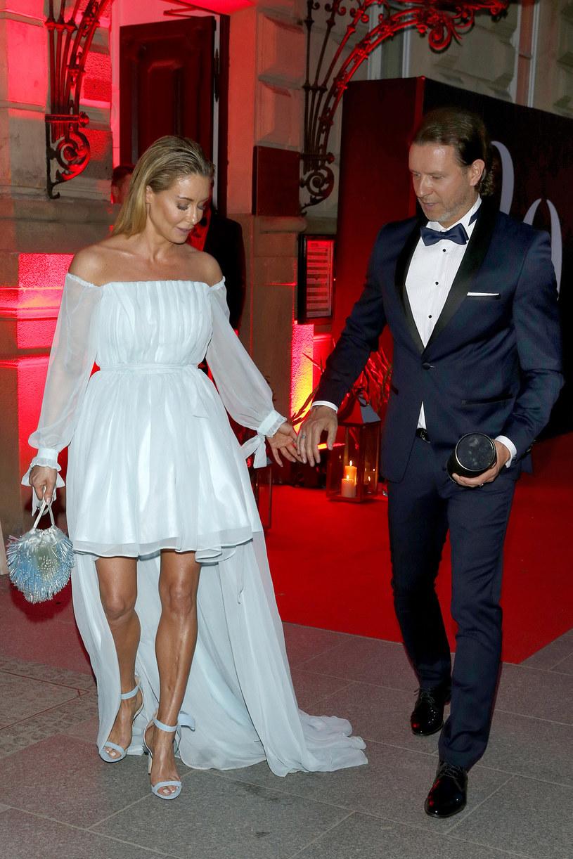 Małgorzata Rozenek-Majdan i jej mąż Radosław Majdan /AKPA