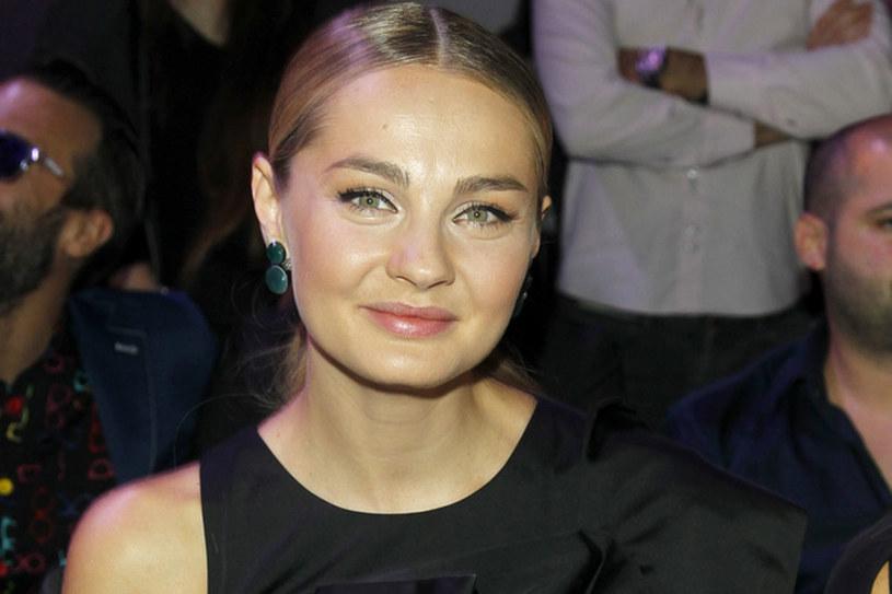 Małgorzata Socha, pojawiając się ostatnio na salonach zaskoczyła piękną sylwetką /Podlewski /AKPA