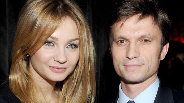 Małgorzata Socha z mężem Krzysztofem /fot  /Agencja W. Impact