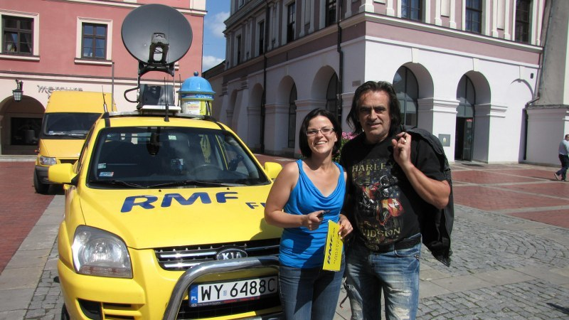 Małgorzata Steckiewicz i Witold Paszt /Jacek Skóra /RMF FM