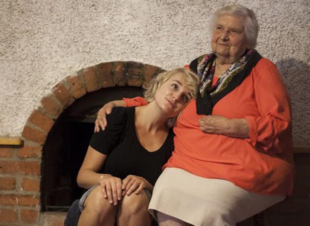 Małgorzata Szumska ze swoją babcią Janką /materiały prasowe