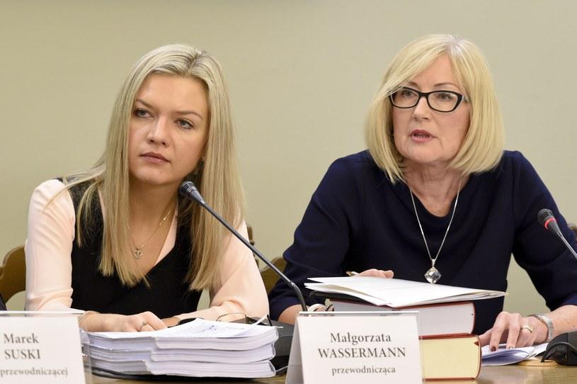 Małgorzata Wassermann i Joanna Kopcińska /Jacek Dominski/REPORTER /East News