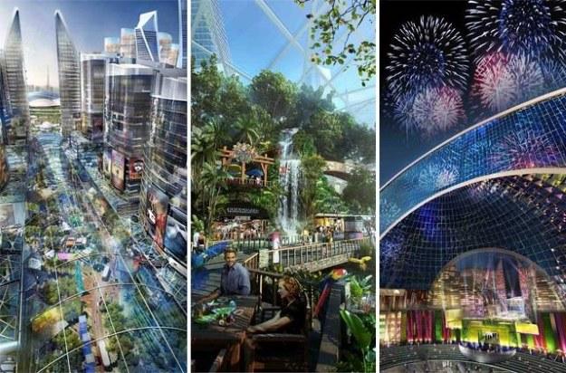 Mall of the World - wizualizacja /materiały prasowe