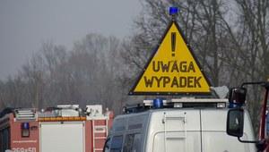 Małopolska: Tragiczny wypadek. Jedna osoba zginęła