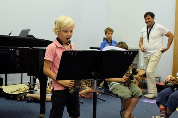 Mały koncert – saksofonowy i nie tylko