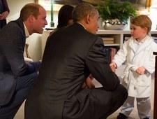 Mały książę George bryluje na salonach