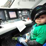 Mały Oskar spełnił marzenie - poprowadził pociąg