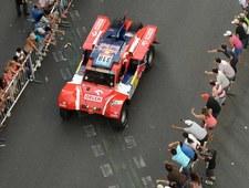Małysz zachęca Lewandowskiego do startu w Rajdzie Dakar