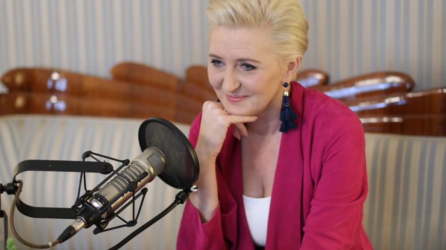 Małżonka Prezydenta RP Agata Kornhauser-Duda /Karolina Bereza /RMF FM