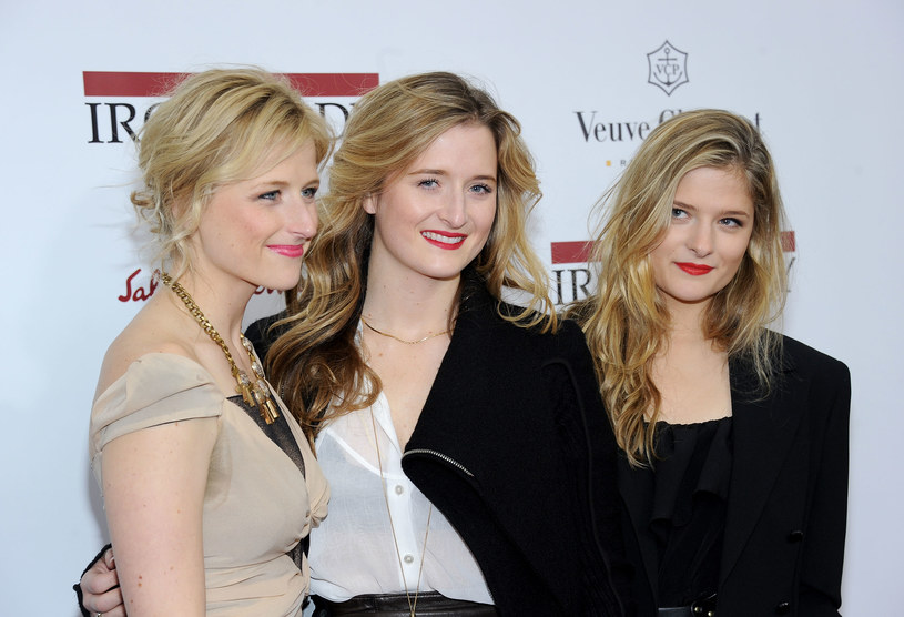 Mamie, Grace i Louisa są owocami związku Meryl z Donem Gummerem /Getty Images