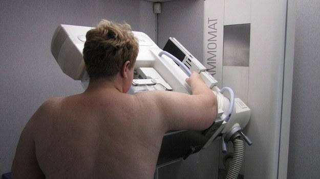Mammografia jest szybka i bezbolesna /Monika Gosławska /RMF FM