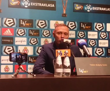 Mamrot po 0-0 z Wisłą Kraków. Wideo