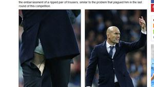 Man City - Real 0-0. Zidane znów rozdarł spodnie