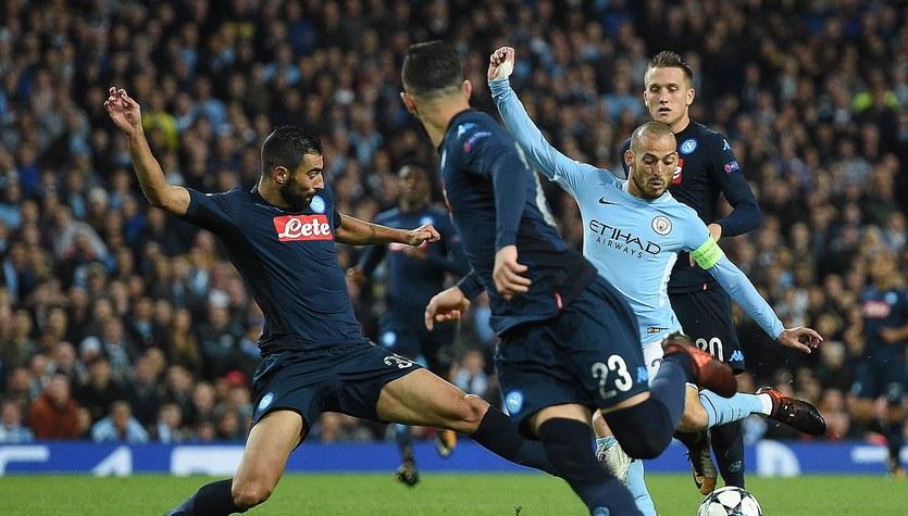 Manchester City - SSC Napoli 2-1 w Lidze Mistrzów
