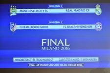 Manchester City z Realem, Atletico z Bayernem w półfinałach LM