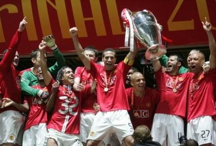 Manchester United w finale Ligi Mistrzów pokonał Chelsea Londyn /AFP