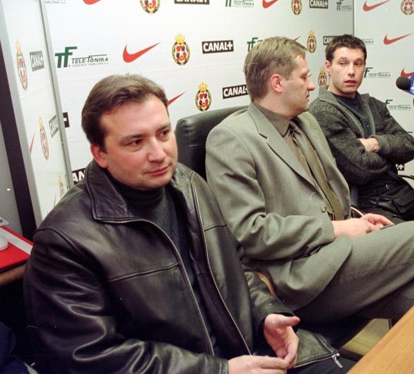 Mandziara (z lewej) na pewno nie popuści Wiśle/fot. Tomasz Markowski /Agencja Przegląd Sportowy