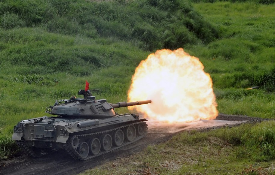 Manewry wojskowe /FRANCK ROBICHON /PAP/EPA