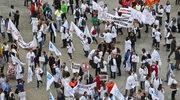Manifestacja Porozumienia Związków Medycznych