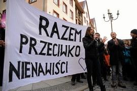 Manifestacja przeciwko nienawiści